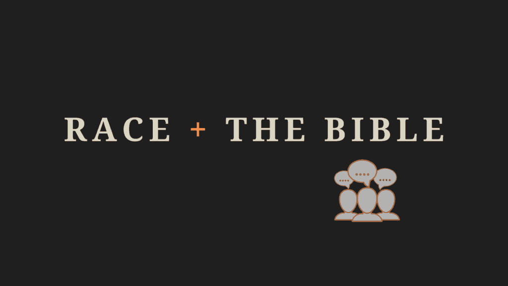 Copy of race + the Bible